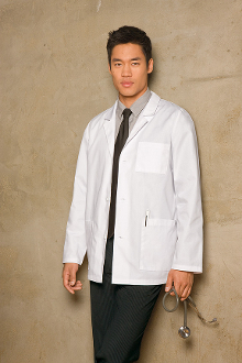 Dickies Everyday Scrubs Men's Lab Coat  81404