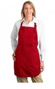 Port Authority Full Length Apron  Pockets