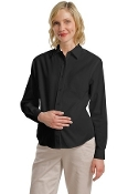Port Authority Maternity Long Sleeve Easy Care Shirt L608M