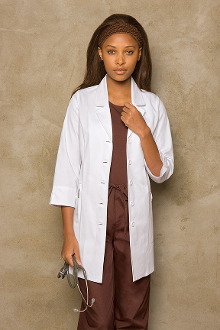 Dickies Medical women's Princess Seam Lab Coat  84407