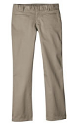 KP0111 GIRLS STRETCH WELT POCKET FLARE BOTTOM PANT